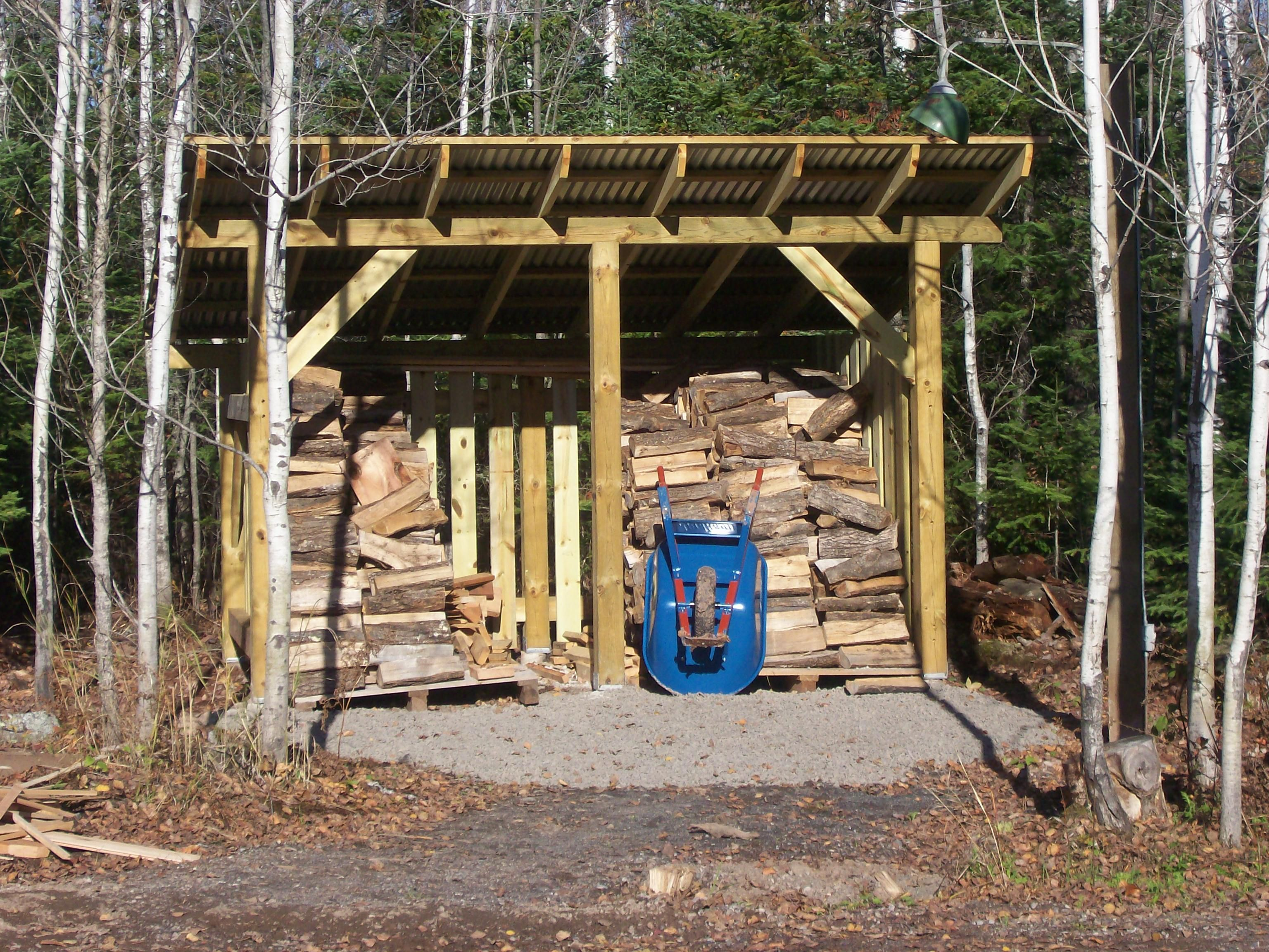 sheds storage home ideas design firewood shed