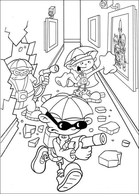 economia do municipio de coloring pages | Codenaam Kids Next Door Kleurplaten 51 | Coloring pages ...