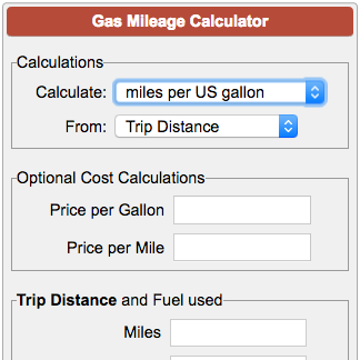 Calculate Car Miles Per Gallon Or Mpg By Entering Odometer Readings And Gallons Or Entering Actual Mileage Calculate Fuel Eco Gas Mileage Mileage Fuel Economy