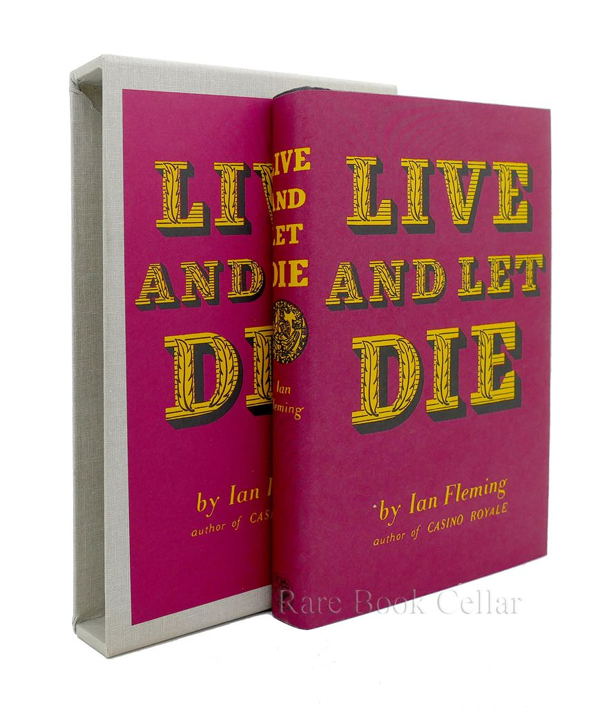 LIVE AND LET DIE, Ian Fleming FEL First Edition Library