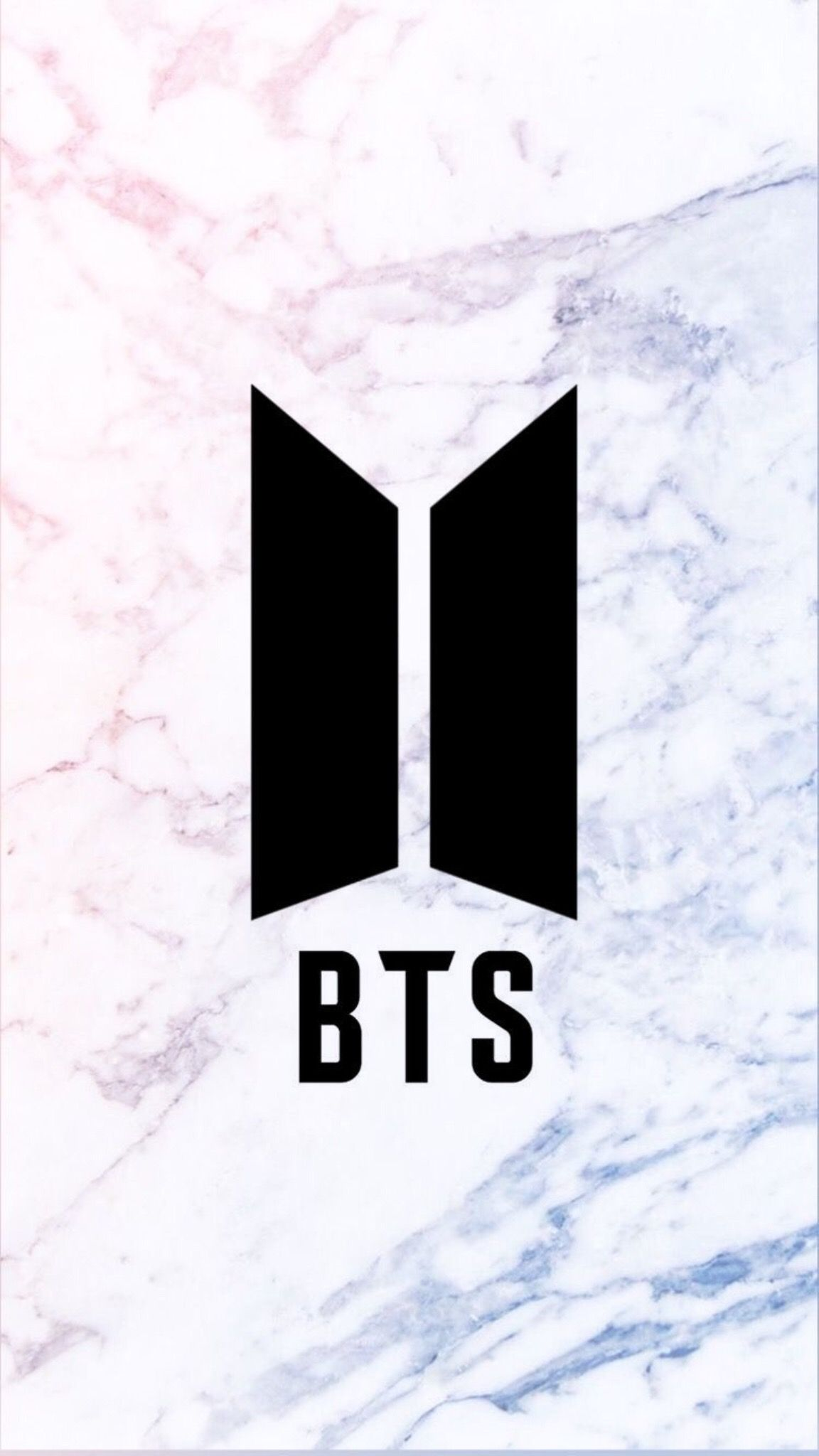 BTS Logo Wallpaper Galaxy marble PinterestBuzziiee_B