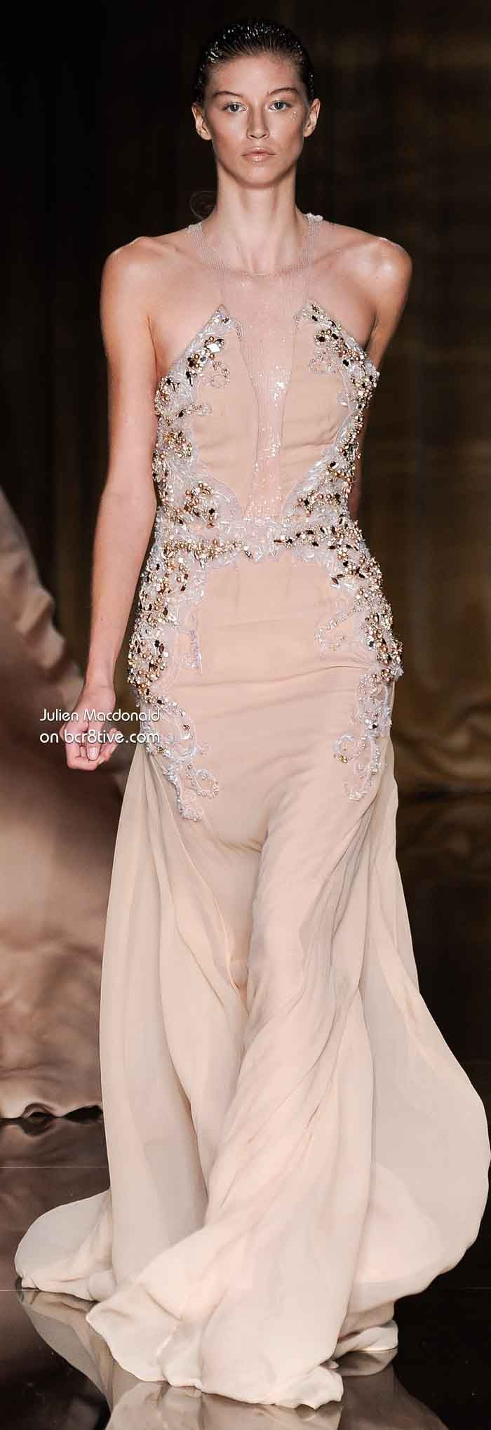 Julien Macdonald Spring 2014 | Nude and Champagne | Pinterest ...