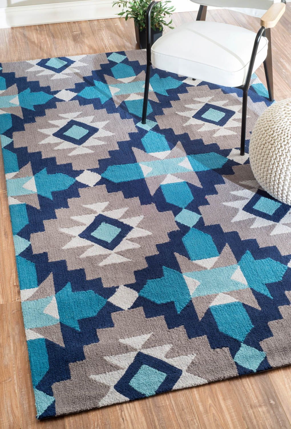 Rugs USA Radiante BC68 Blue Rug