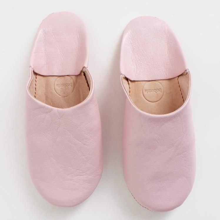 Photo of Bohemia Rose Pink Moroccan Babouche Slippers – Trouva