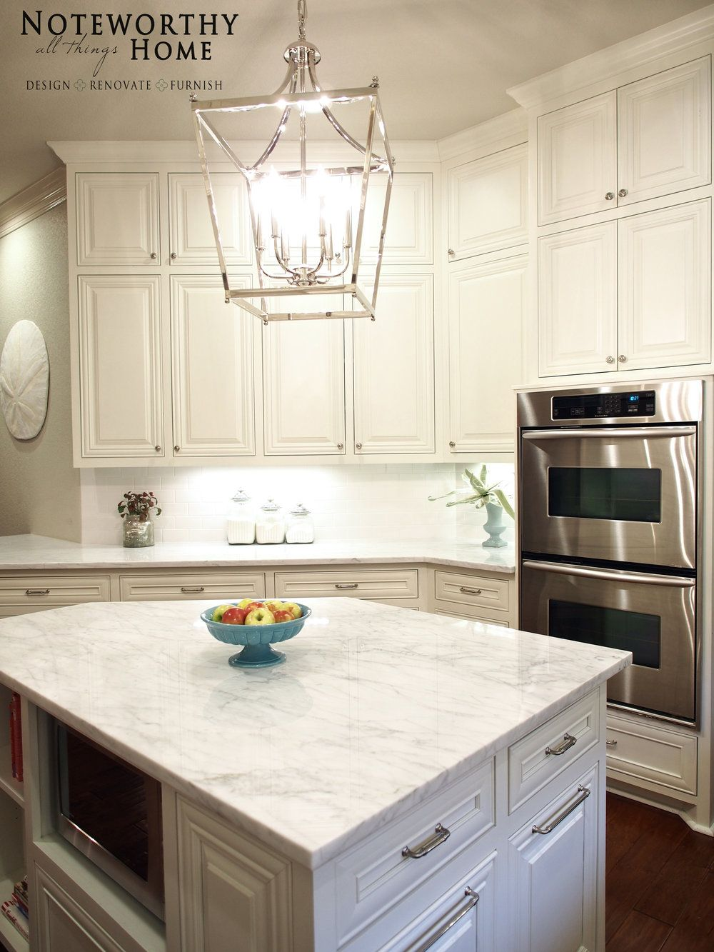 Painted Marble Countertops Carrara Marble Countertop Painted Knotty Alder Painted Cabinetry