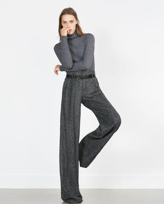Zara hose kaki