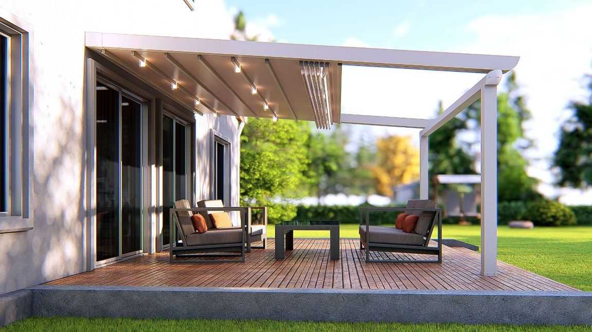 Stunning Ready To Install When You Are Pergola Pergola With Roof Retractable Awning