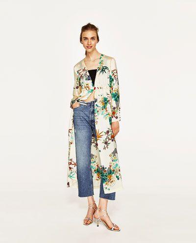 MujerZara Largo Colombia Última Kimono En Semana 2019 MSzVqUpG