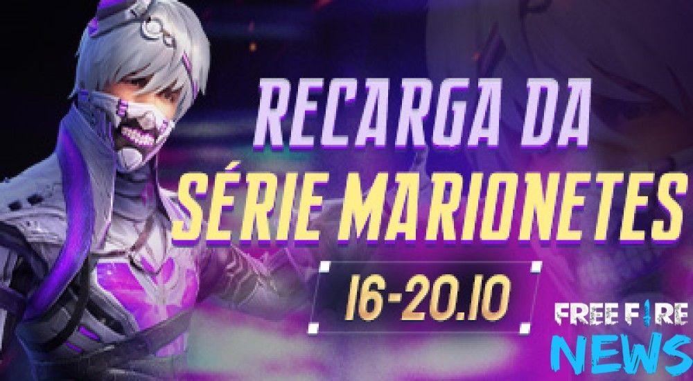 Evento De Recarga Da Serie Marionetes With Images Diamond Free