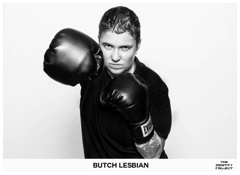 Amateur butch lesbian