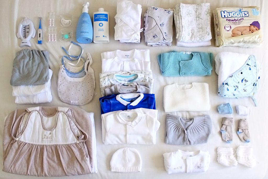 O que levar para maternidade roupinhas para o bebe higiene para o bebe