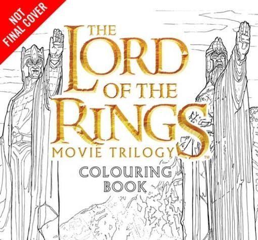 Libro para colorear de la trilogía de El Señor de los Anillos ...