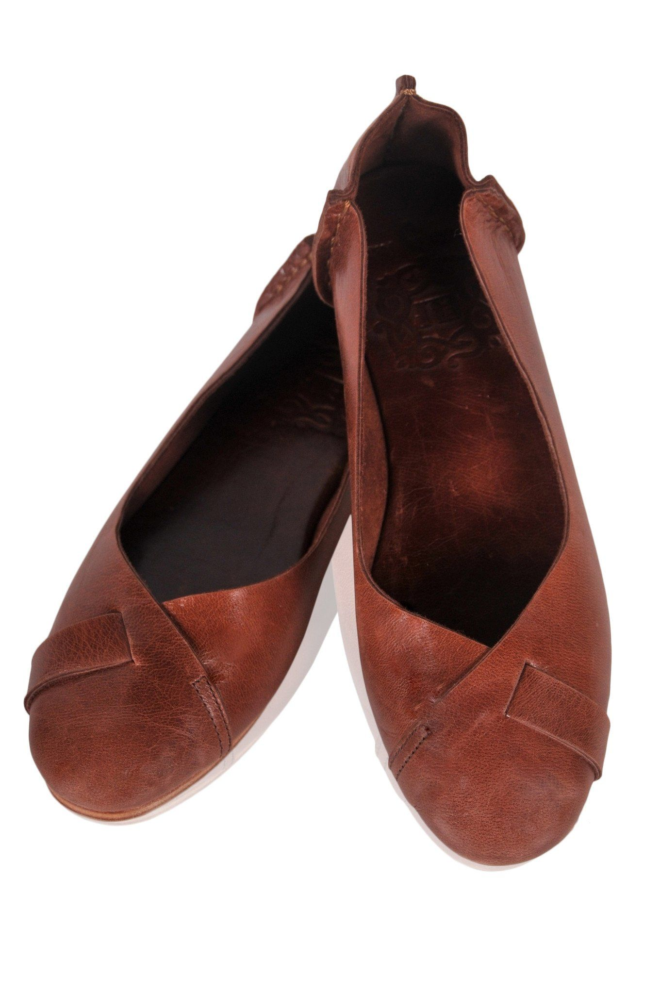 9d3a83df3a119 Native in 2019 | Shoes | Leather ballet flats, Handmade leather ...