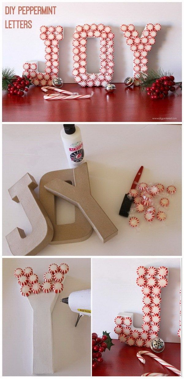 35+ DIY Christmas Decor Ideas Which Are Much Better Than Store Bought Ornaments » EcstasyCoffee