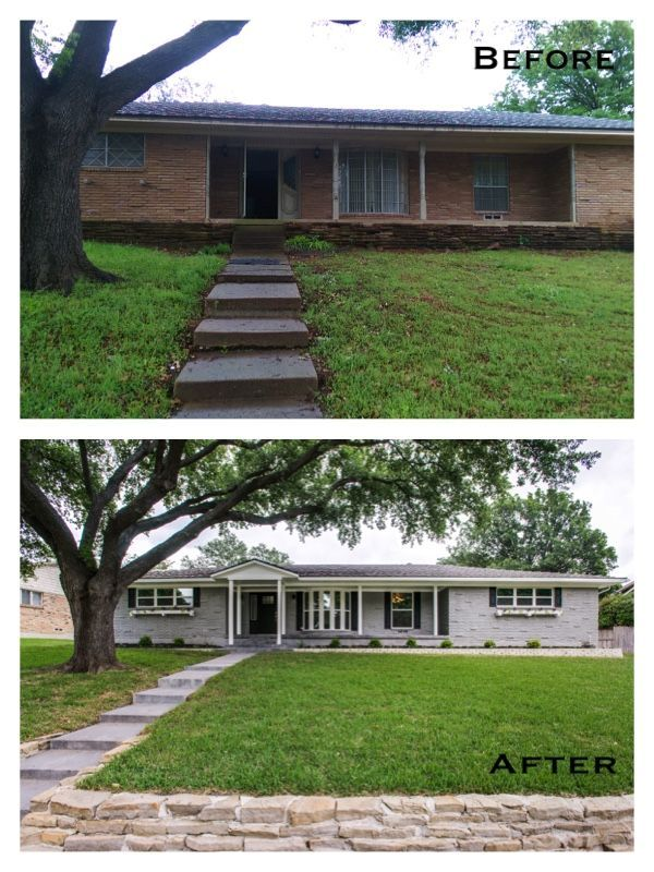 Image Result For Ranch Without Shutters Exterior Home