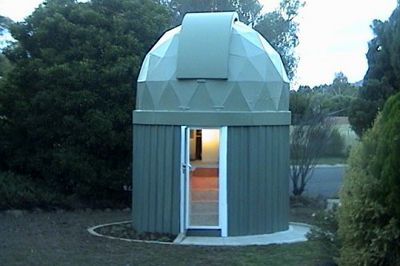 Barry Armstead Of Australia Built This Wonderful Observatory In His Backyard  From Locally Available Parts And