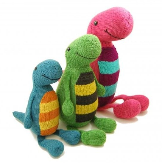 NobleKnits Yarn Shop - Danger Crafts Terence the T-Rex ...