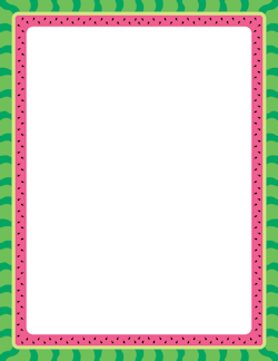 watermelon border for the class page borders frame