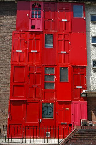 the red house at Great George Street, Liverpool.