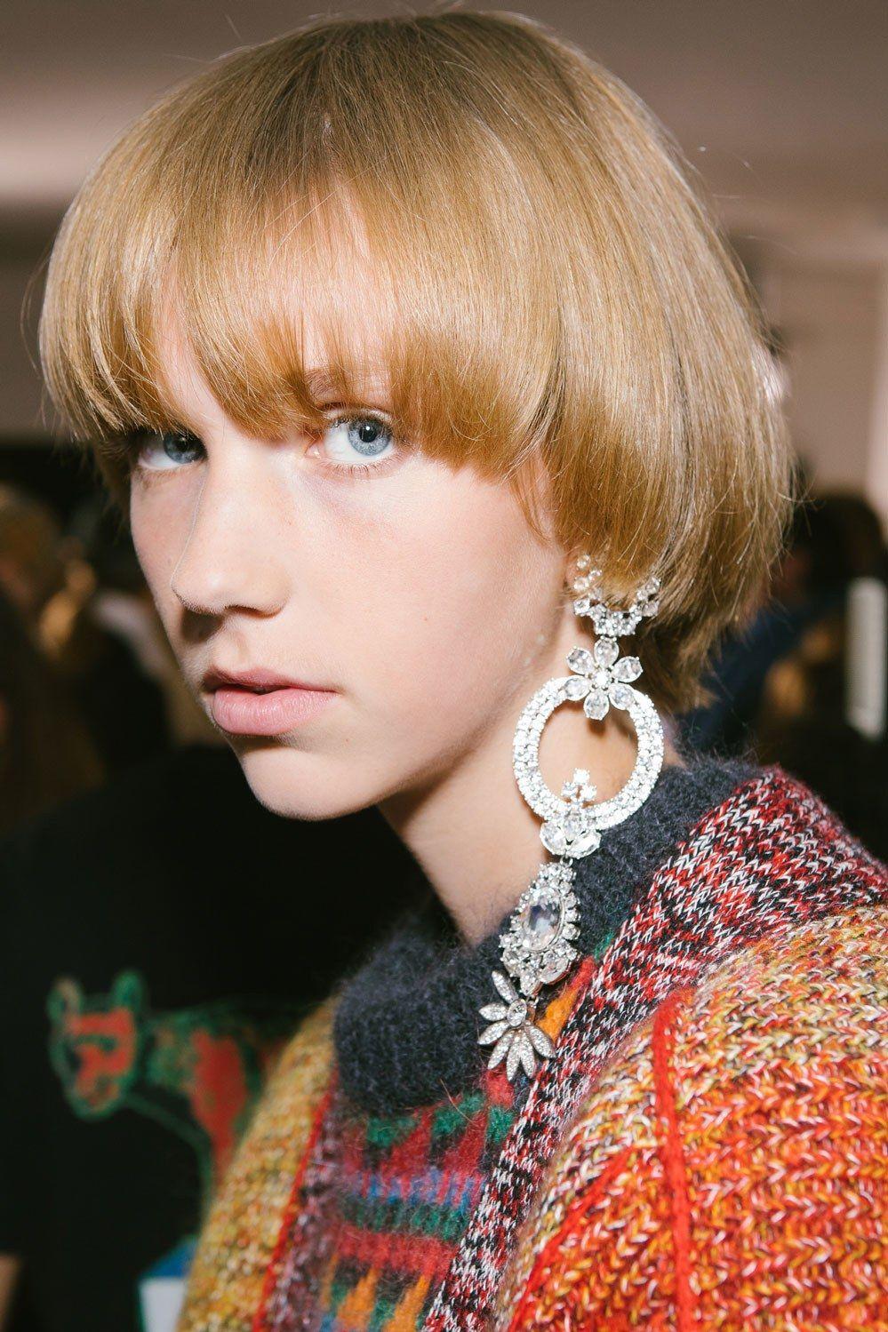 Boy hairstyle status go behind the scenes at london fashion week spring u  london
