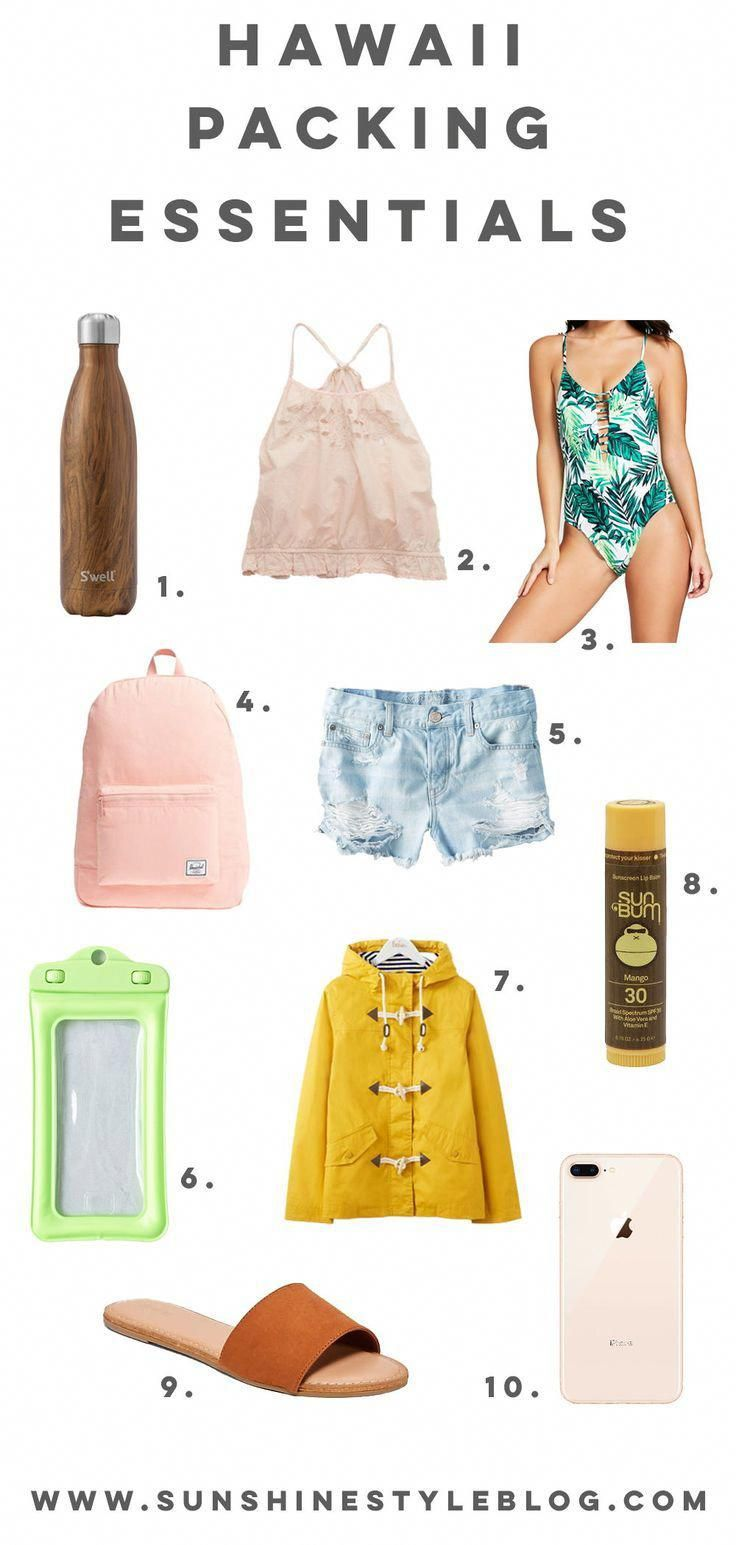 My Top 10 Hawaii Packing Essentials #beachvacationclothes