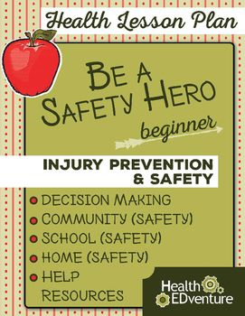 And Plans Lesson Injury Prevention Safety