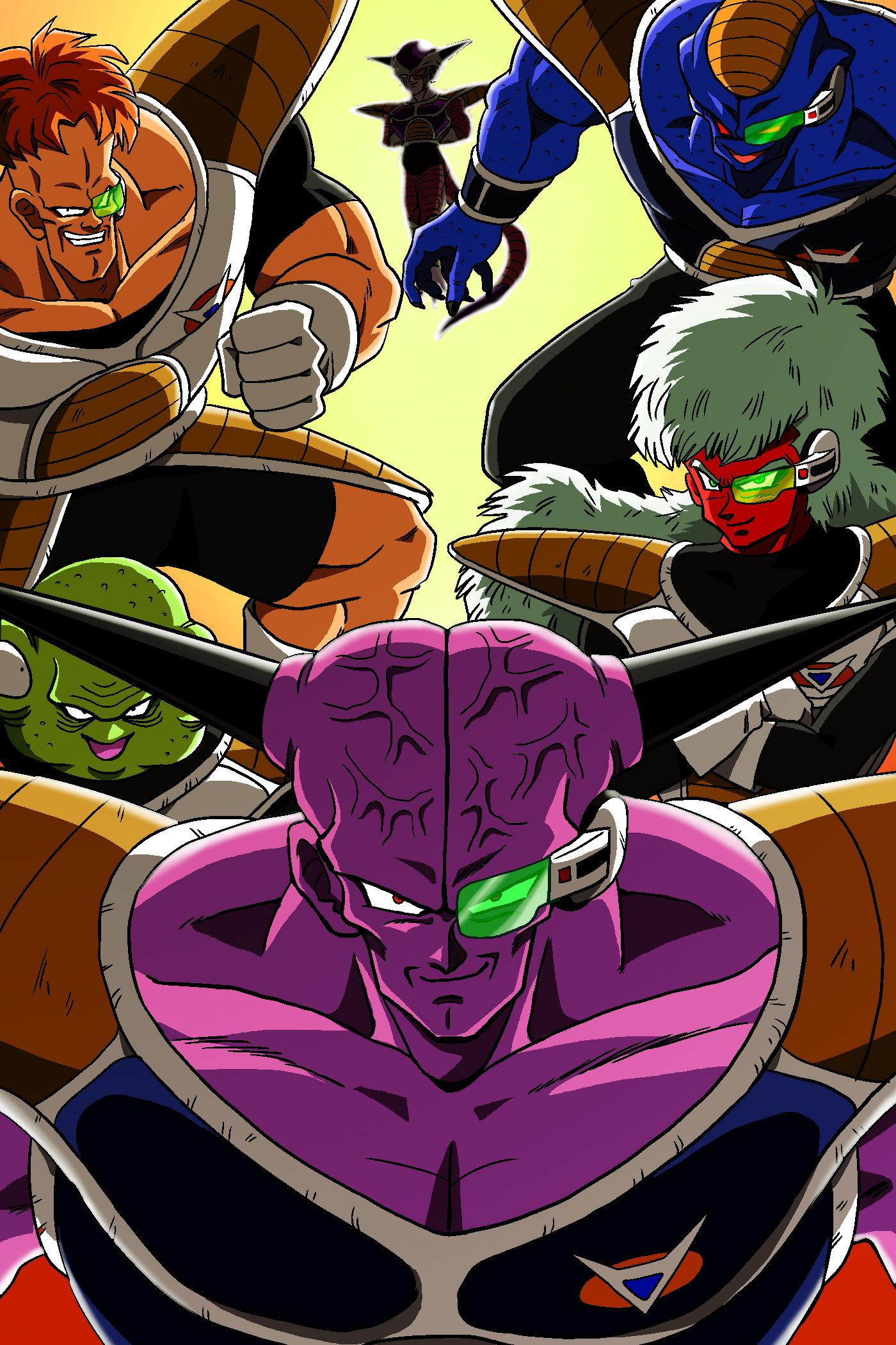 Ginyu force- I really like how this is laid out. - Visit now for ...