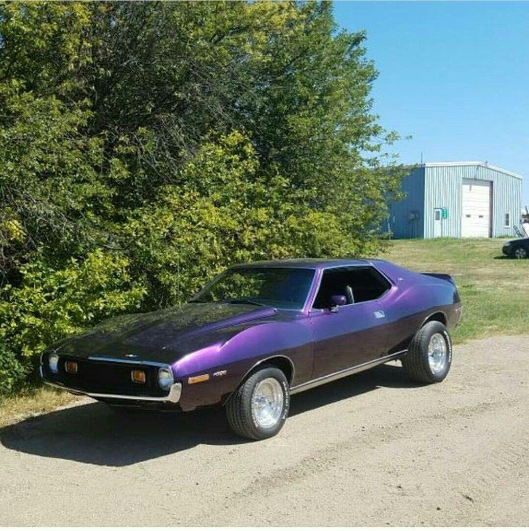 Purple Jave Drag Racing Cars Amc Javelin American Motors