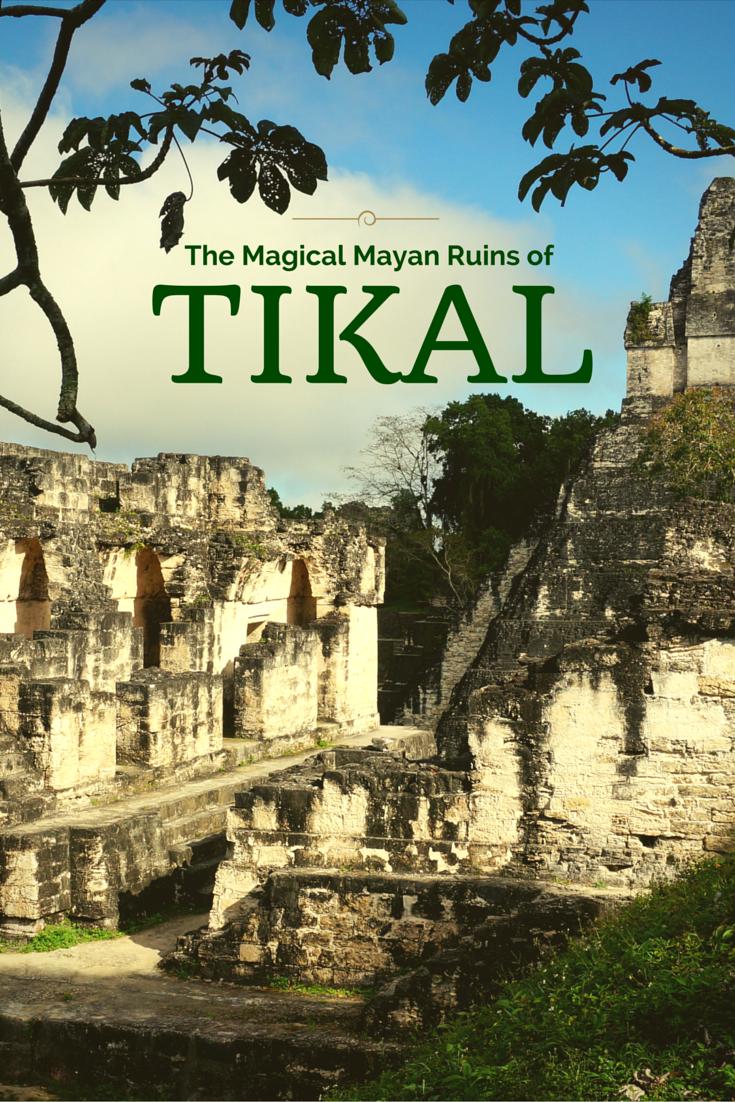 The Magical Mayan Ruins Of Tikal Tikal Guatemala Travel Beautiful Places To Travel