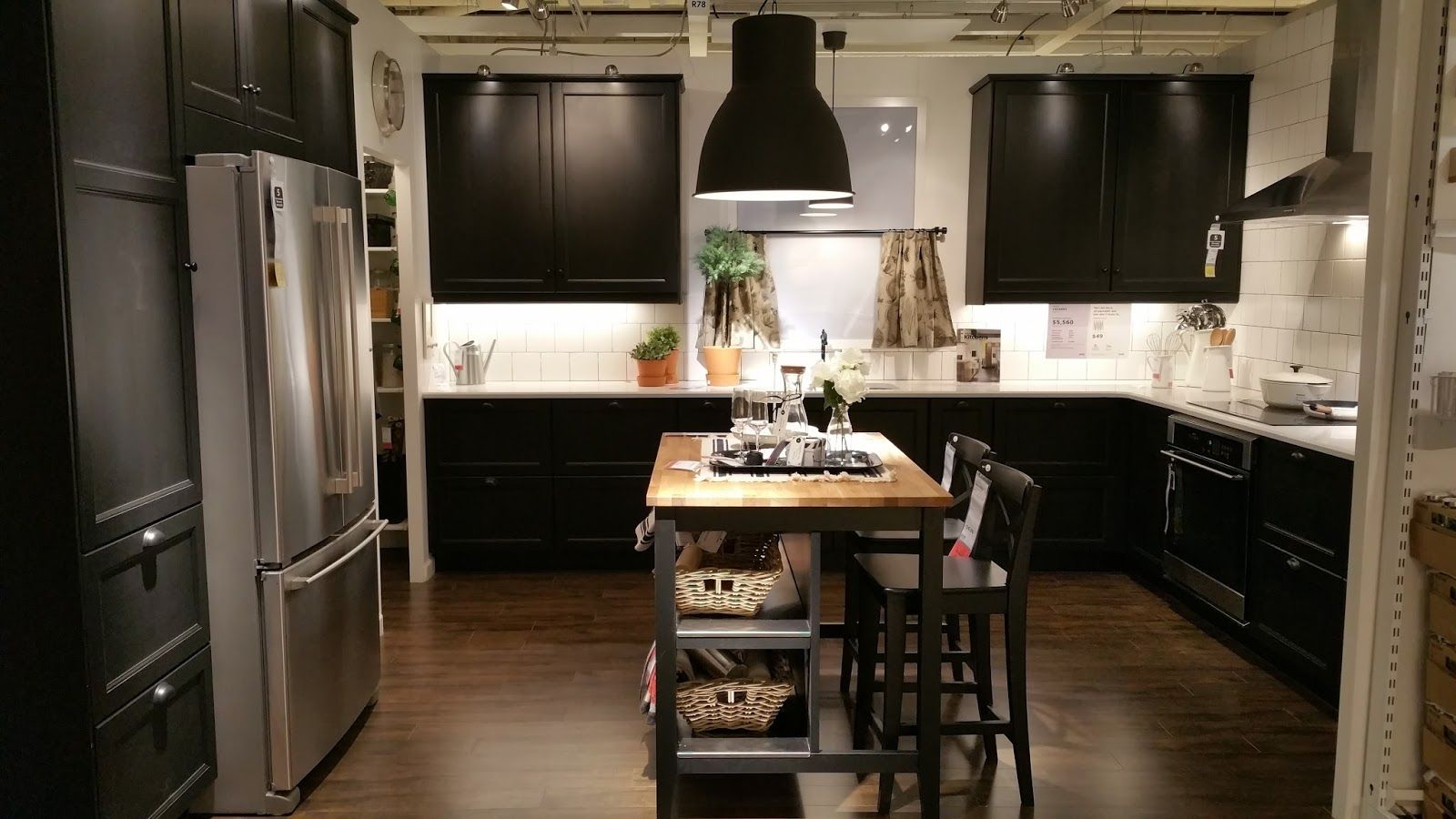 Laxarby Black Brown Design Kitchens In 2019 Ikea