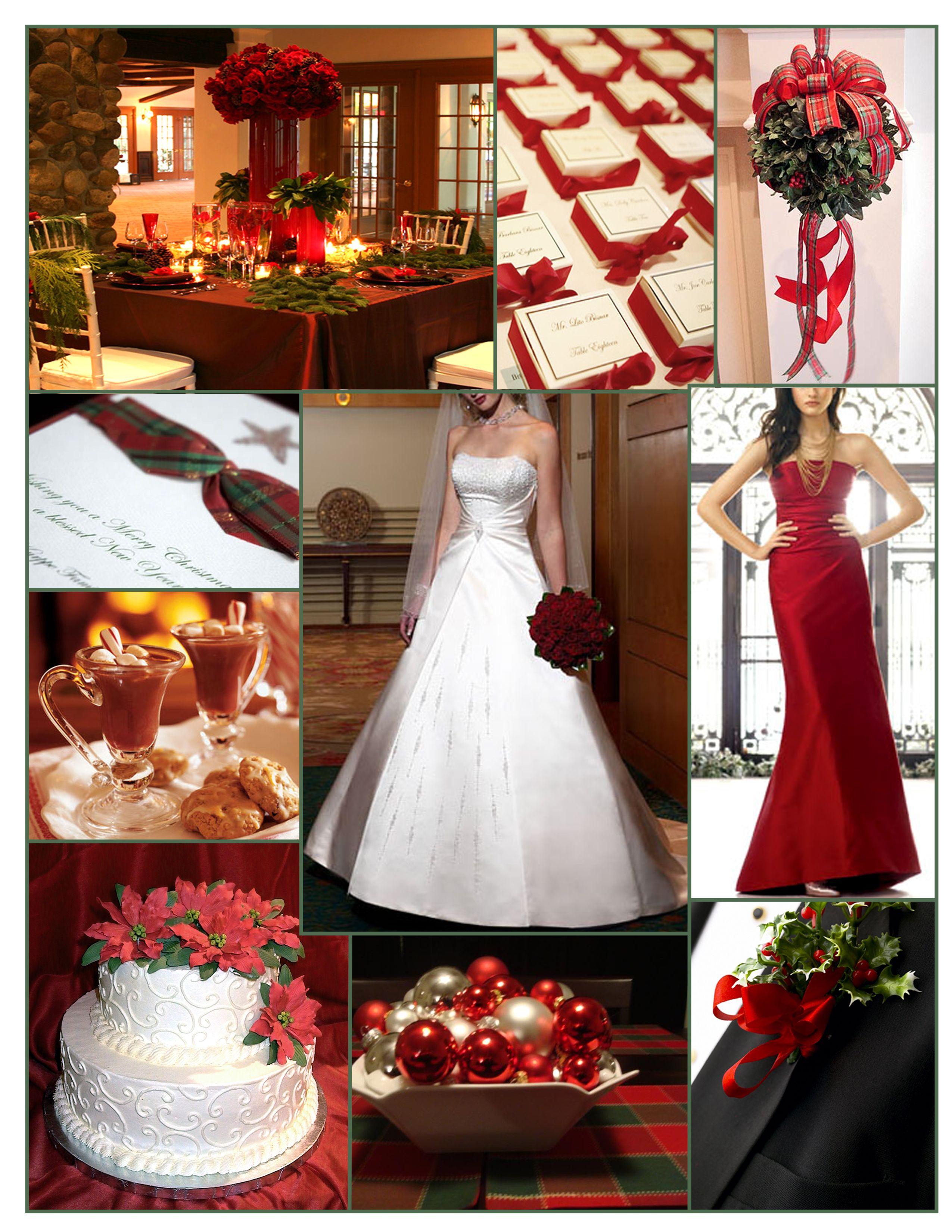 Christmas themed wedding inspiration  Our Christmas Wedding  Christmas Wedding Wedding gowns
