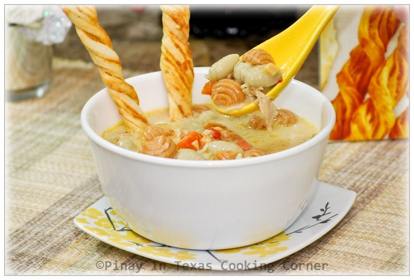 Turkey And Shell Pasta Soup