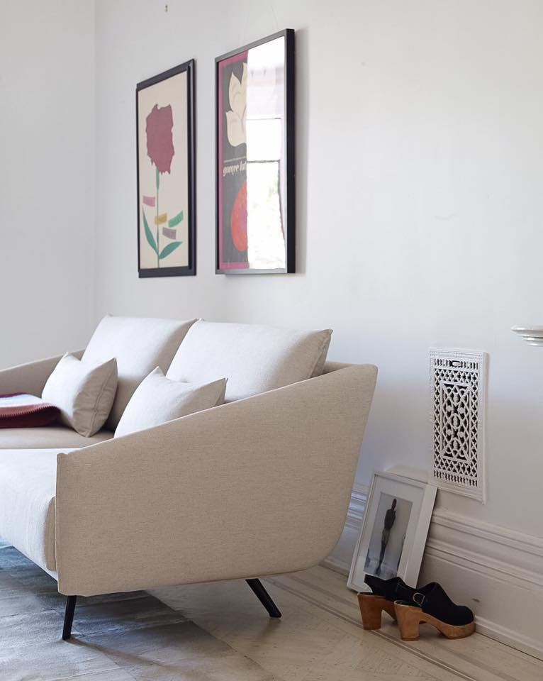 Apartment In Brooklyn With STUA Costura Sofa. A Jon Gasca Design. COSTURA:  Www