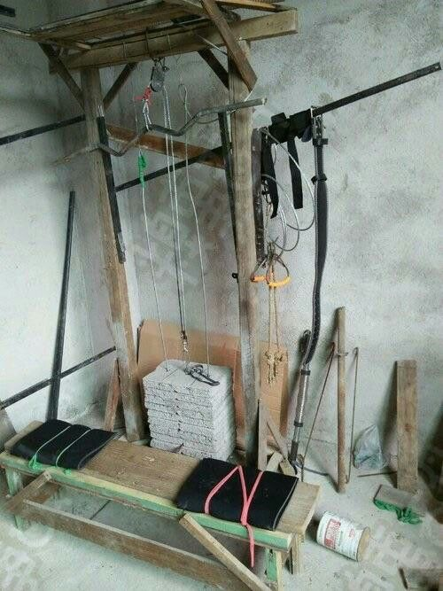 Diy gym for the poor