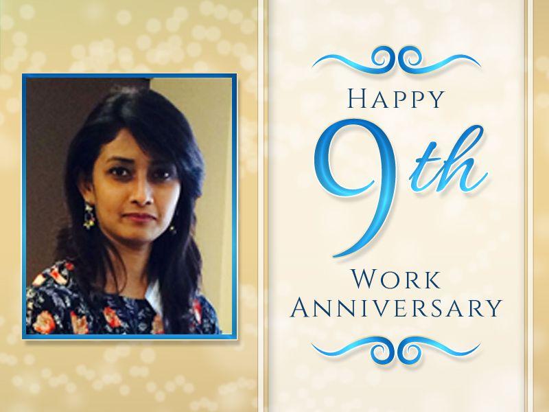 Work anniversary techno infonet