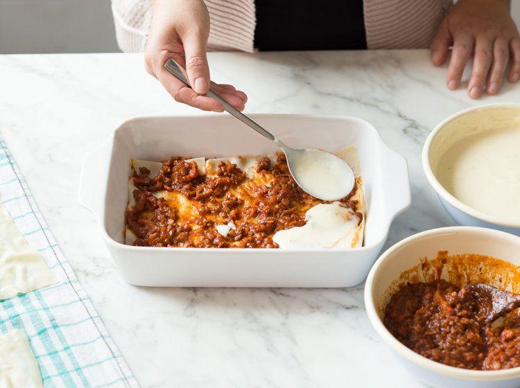 lasagne selber machen – und zwar richtig rezept