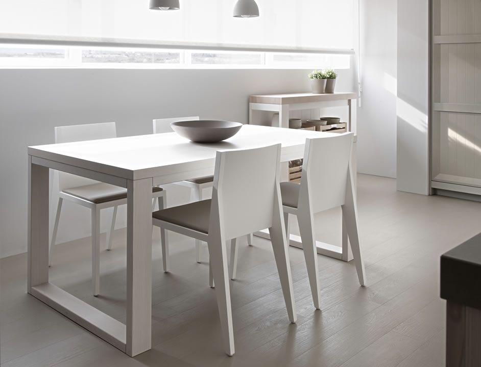 Mesa sillas y bancadas arkadia interios mobiliario de - Bancadas de cocina ...
