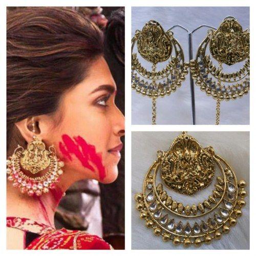 Online Shopping for Ram Leela Kundan Ear Ring | Earrings ...