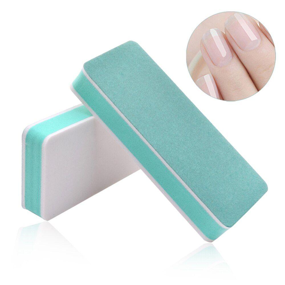 New Nail File Double Sided Sponge Polishing Strip Polishing Block Square Sanding Buffer Nail Polishing Manicure Tools Wholesale In 2020 Nail Buffer Manicure Manicure And Pedicure