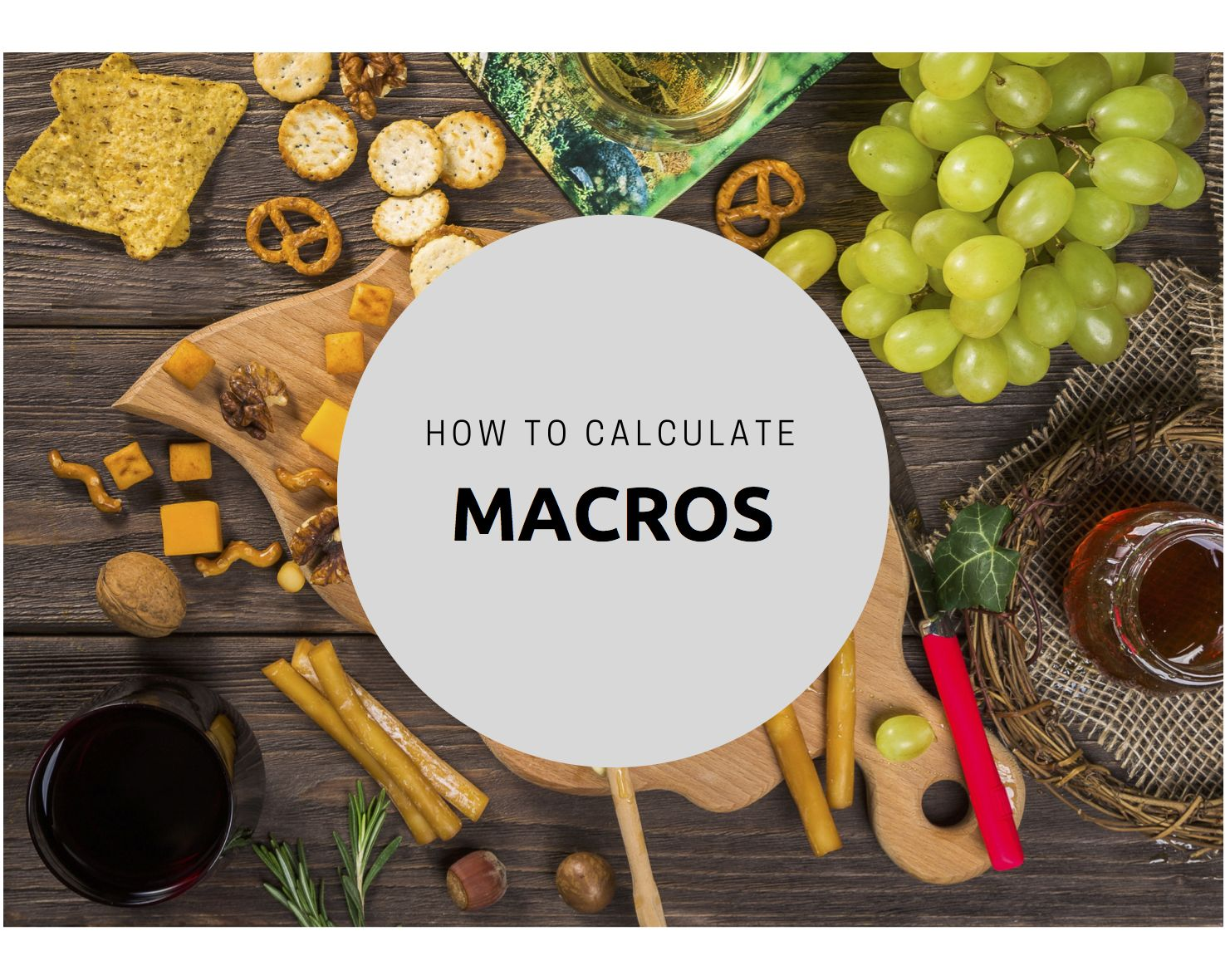 How to calculate macros with images macros calculator