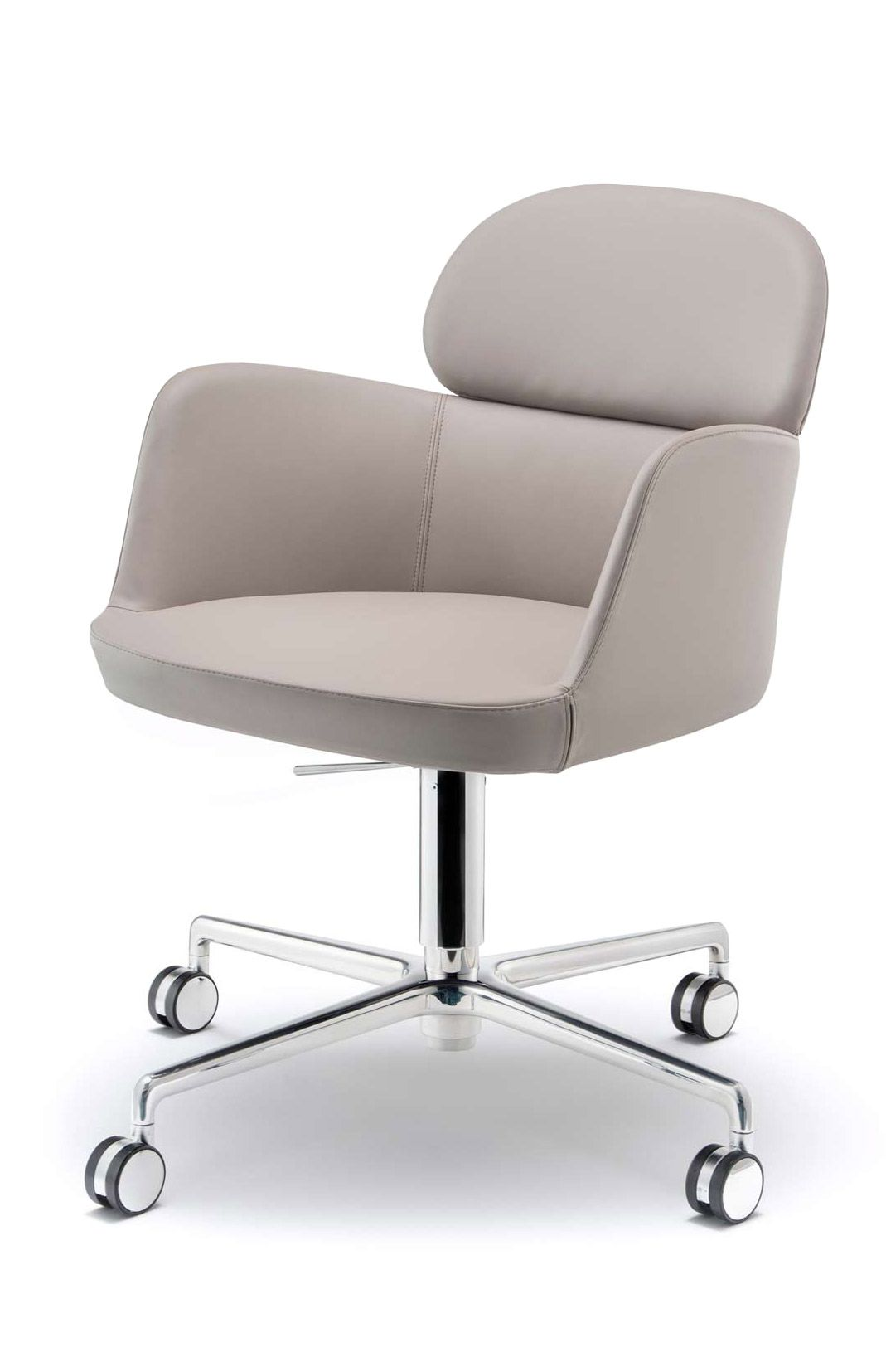 Ester Desk Chair Contemporary Office Chairs White Leather Office Chair Office Chair Cushion