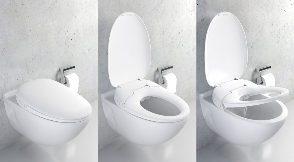 Smart Bidet Seat iF WORLD DESIGN GUIDE (With images