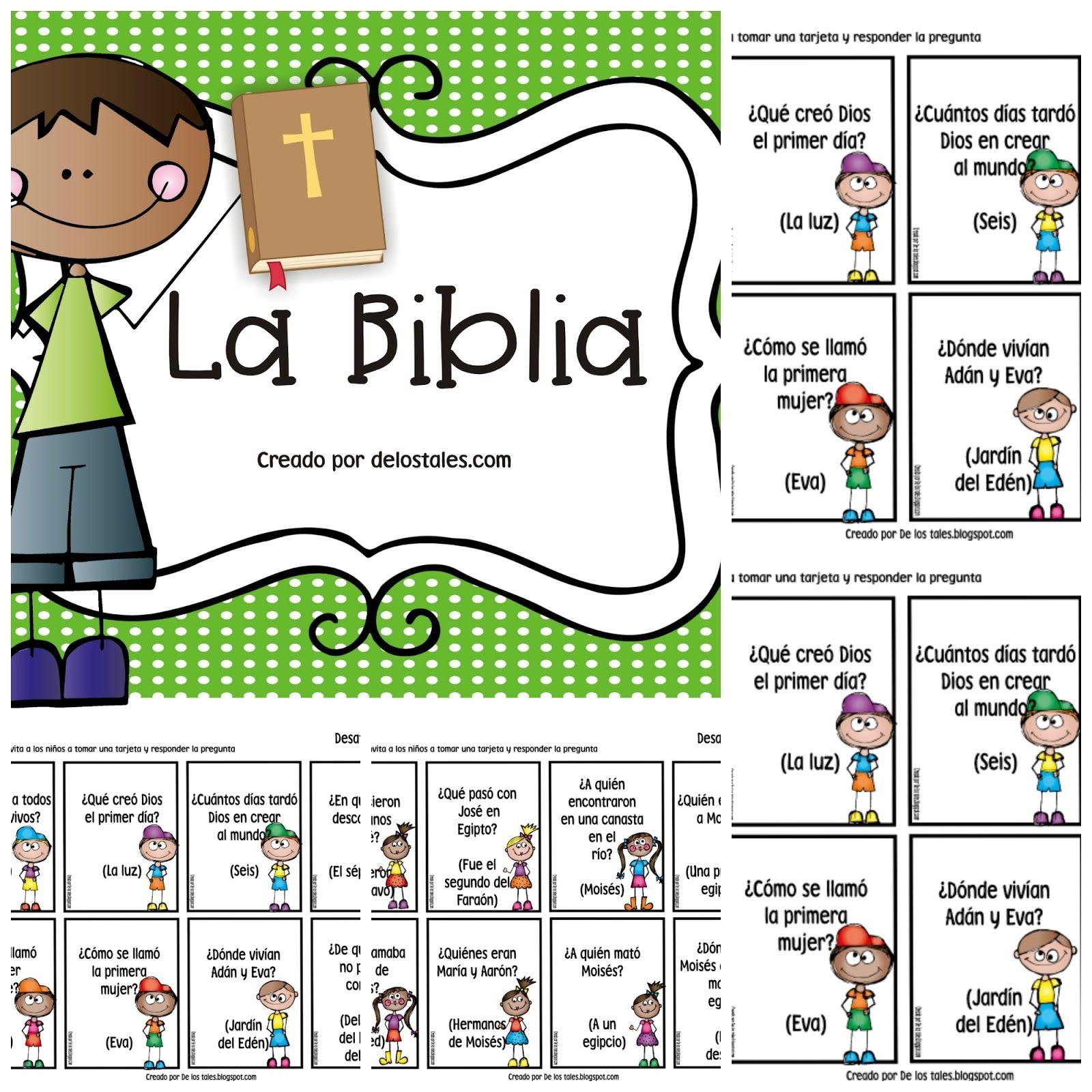 Libros De La Biblia Y Preguntas De Los Tales Lecciones Bíblicas Para Niños Estudios Bíblicos Para Niños Libros De La Biblia