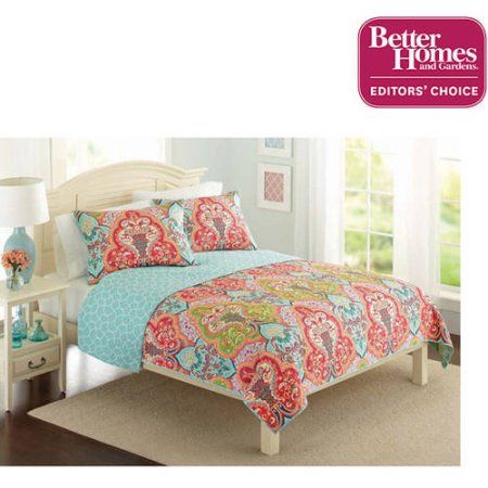 Better Homes And Gardens Bedding And Curtains