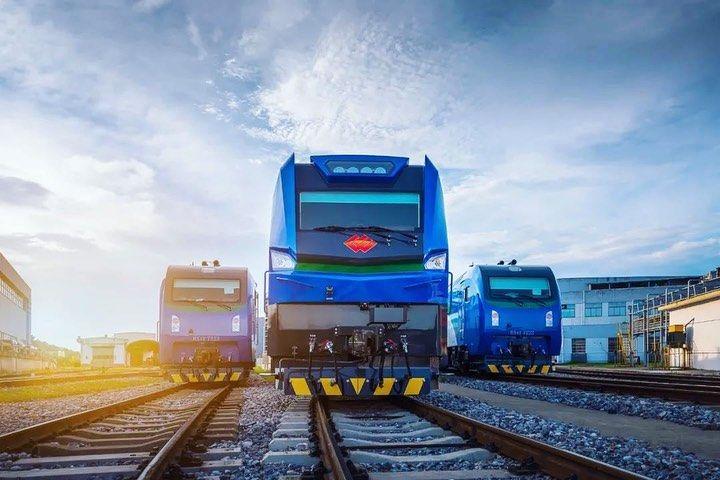 96 Curtidas 2 Comentarios Crrc中国中车 Crrc Global No Instagram The Global Maximum Power Electric Locomotive Was O In 2020 Electric Locomotive Locomotive Instagram