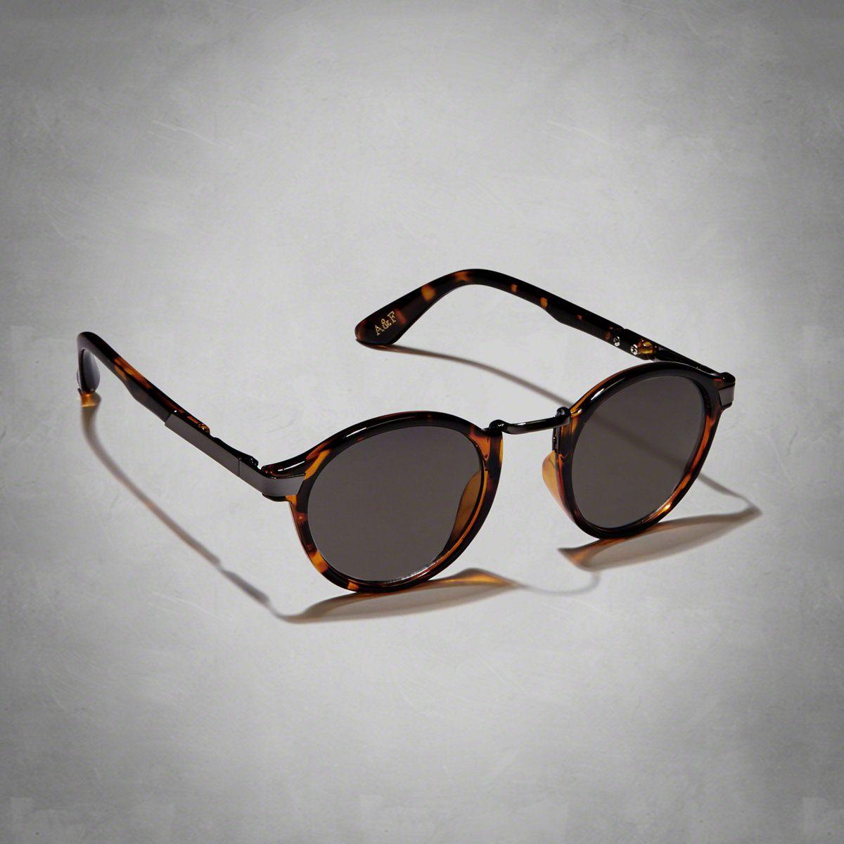 Womens Round Vintage Sunglasses | Vintage Round style, tortoise shell pattern frame | Womens Summer Getaways | Abercrombie.com
