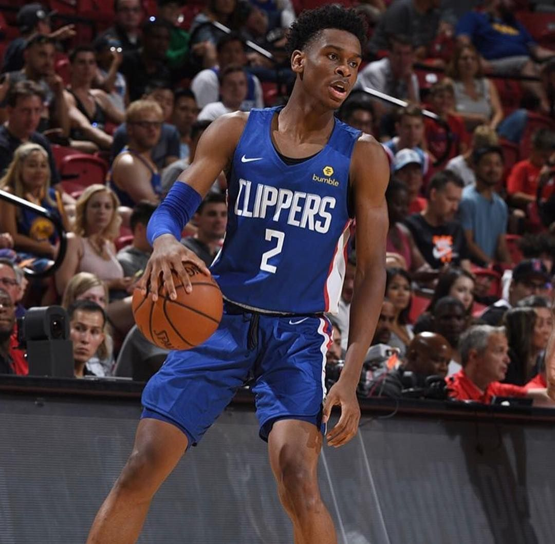 0f670e53aaf Shai Gilgeous-Alexander led his LA Clipper squad with 13 points, 4 assist,  and 2 blocks in his NBA Summer League debut. #BBN