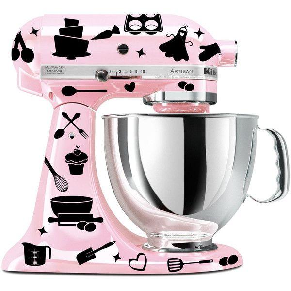 Baking Mixer Decal Set Kitchen Mixer Decal Utensil Decal Cupcake Mesmerizing Kitchen Kit Design Inspiration