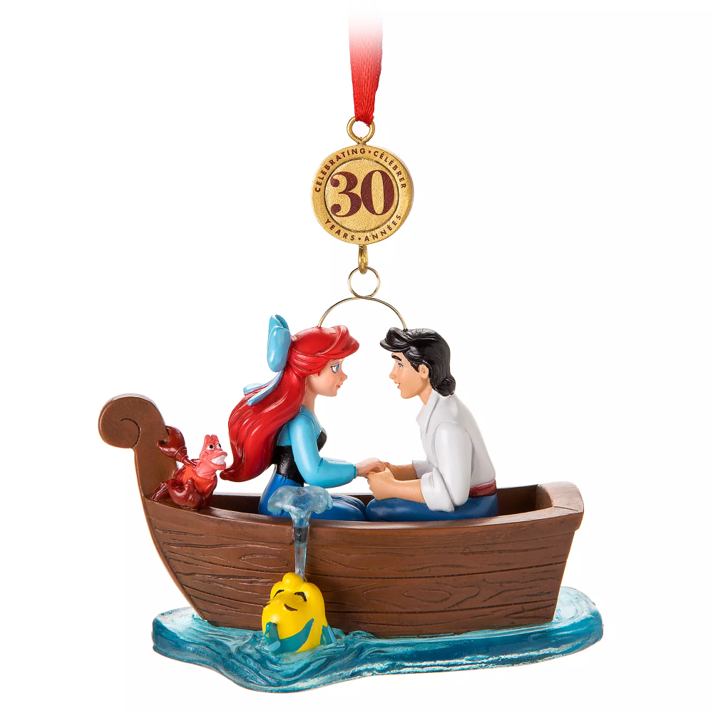 The Little Mermaid Legacy Sketchbook Ornament Limited