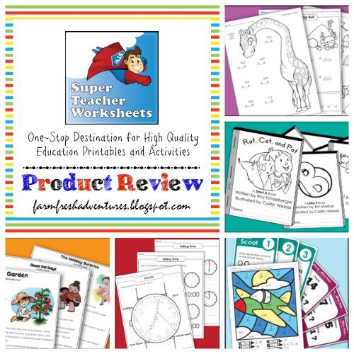 Super Teacher Worksheets: Product Review | Education of children ...